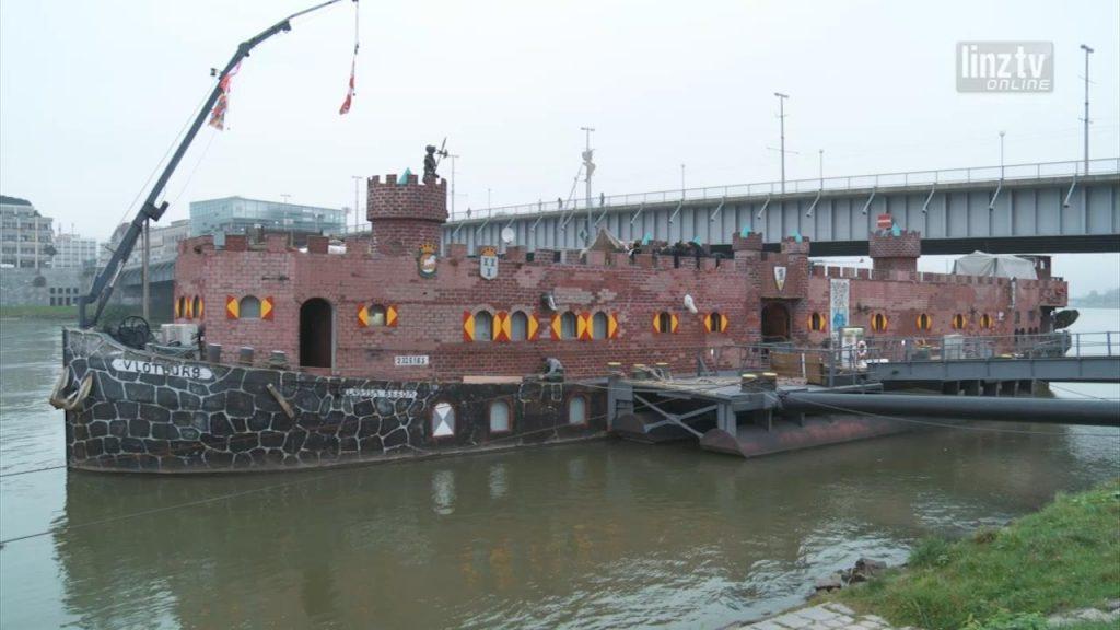 Vlotburg: Zweite Festung an der Donau