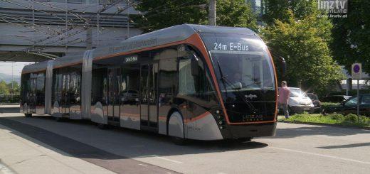 LINZ AG E-Bus neu