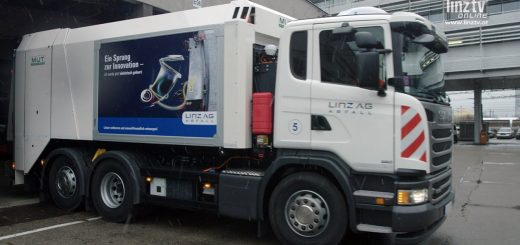 LINZ AG Hybrid-Müllwagen