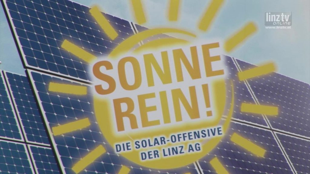 LINZ AG Solar-Offensive geht in nächste Runde