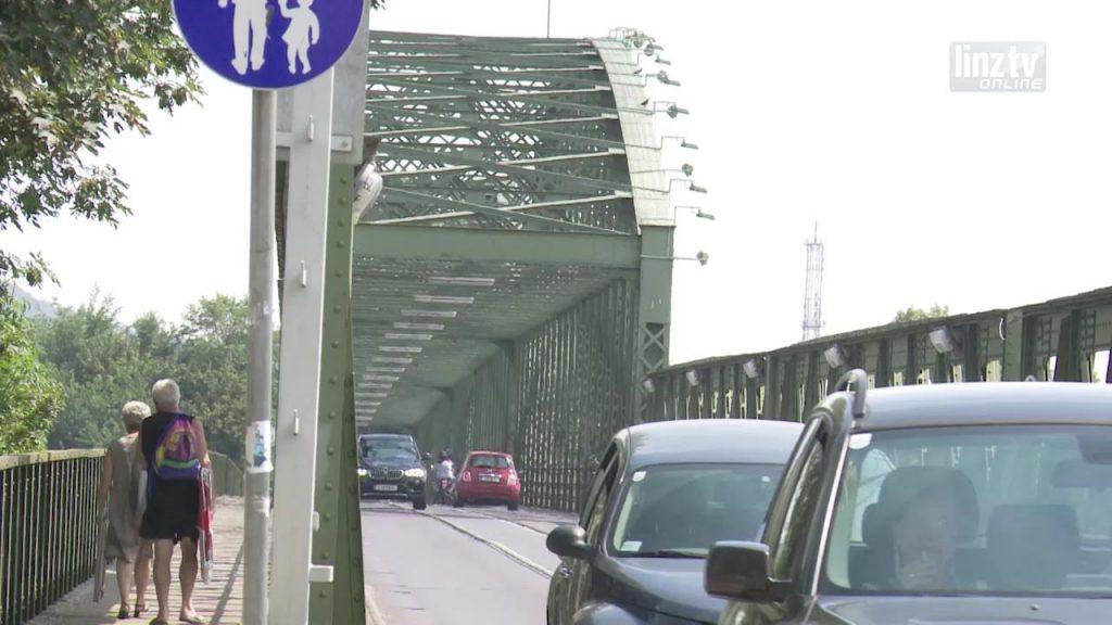 Sperrmaßnahmen Eisenbahnbrücke