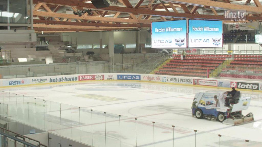 Ausbau Eissporthalle auf der Zielgeraden