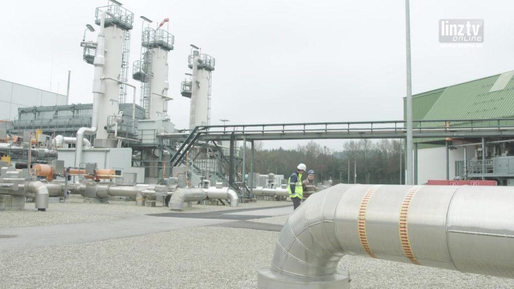 Versorgungssicherheit dank Erdgasspeicher