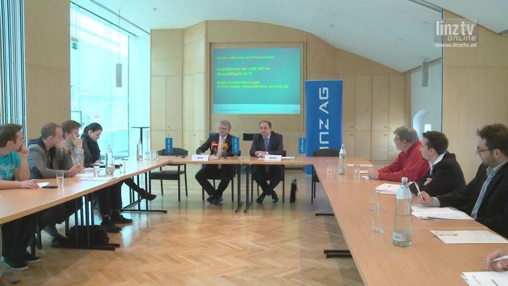 LINZ AG investiert 115,7 Mio Euro
