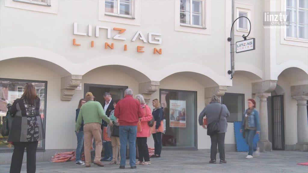 Neues LINZ AG Linien Service Center
