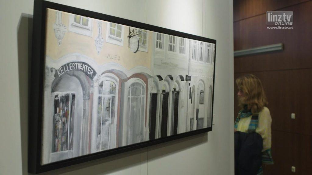 """Linz erleben"" im LINZ AG Kunstforum"