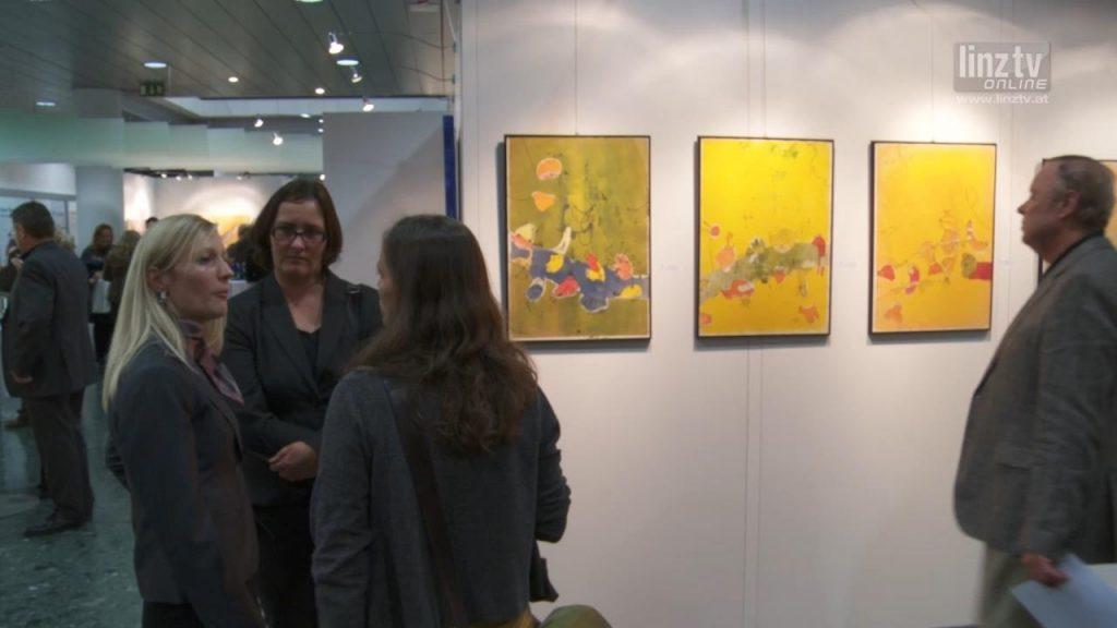 """""""Kunst verbindet"""" im LINZ AG Kunstforum"""