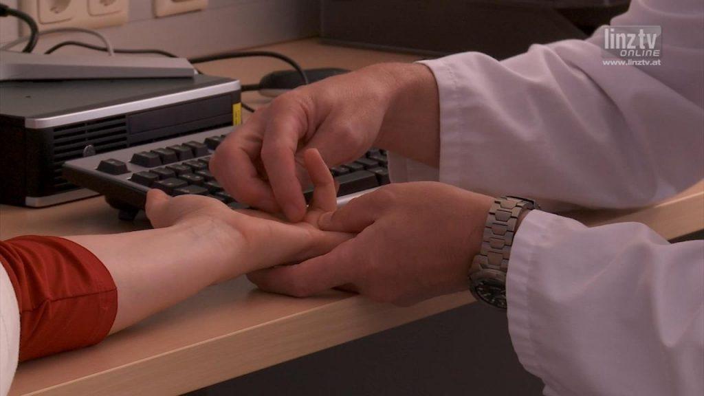 Injektionstherapie bei Morbus Dupuytren