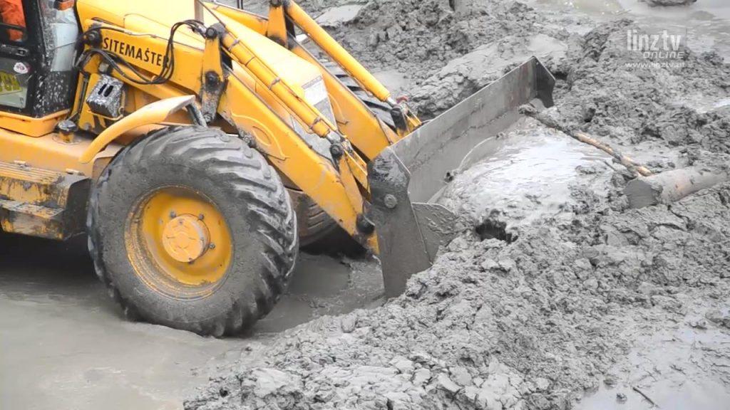 Hochwasser 2013: Aufräumarbeiten I