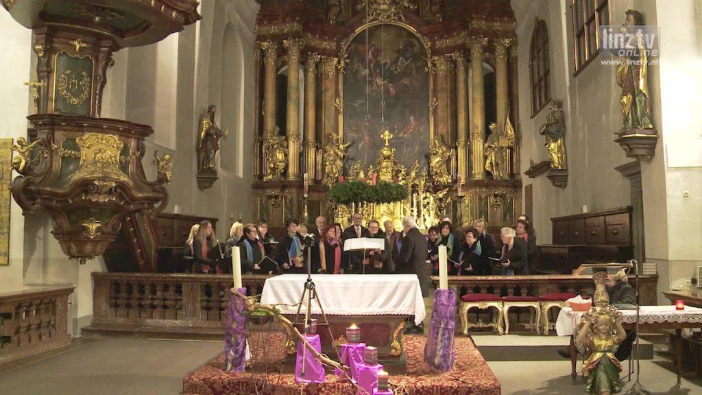 LINZ AG Chor: Stille Nacht 2015