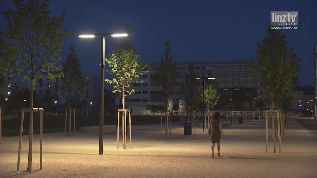 Erste dynamische Beleuchtungsanlage in OÖ
