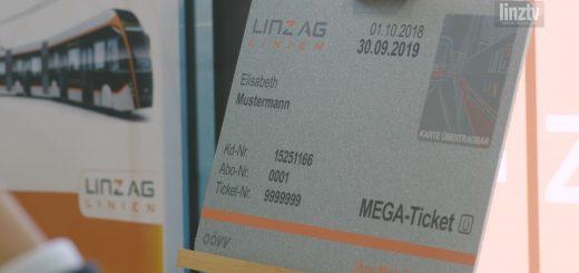 LINZ AG Mega-Ticket neu