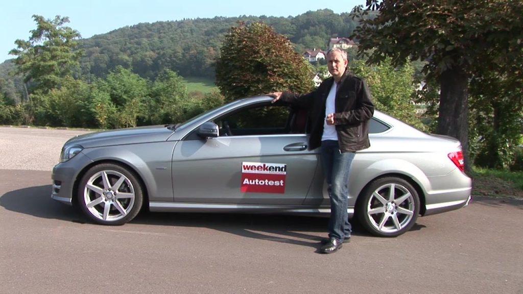 Autotest: Mercedes C-Klasse-Coupé 350